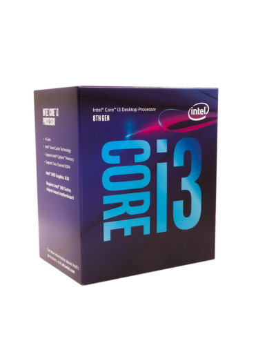 Intel Core i3 8100, 3.9Ghz,...